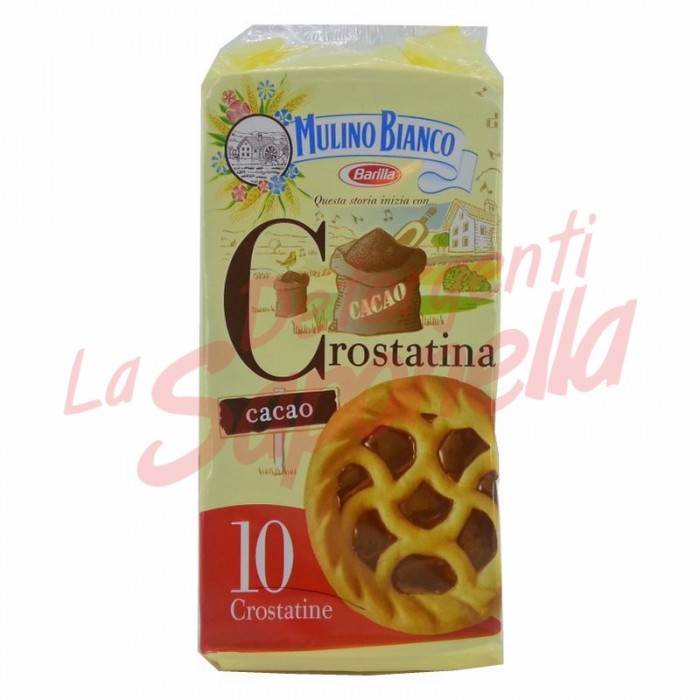 Tarte Mulino Bianco cu crema de cacao 400 gr-10 bucati