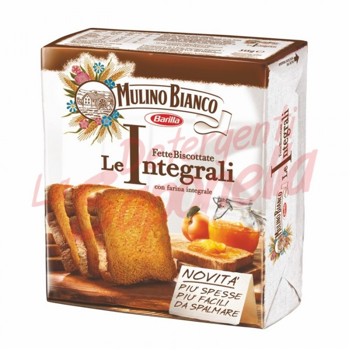 "Paine prajita Mulino Bianco ""Le Integrali"" cu faina integrala 315 gr- 36 bucati"