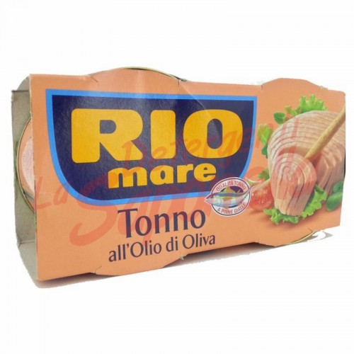 Ton Rio Mare in ulei de masline 2X160 gr