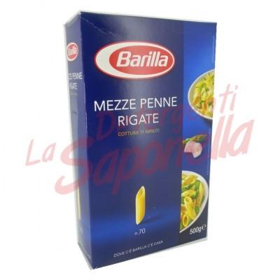 """Paste Barilla """"Mezze Penne Rigate"""" Nr.70-500 gr"""
