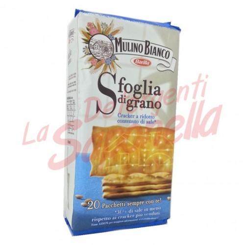Crackers Mulino Bianco cu continut redus de sare 500 gr-20 pachete