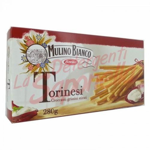"Grisine Mulino Bianco ""Torinesi"" crocante 280 gr"