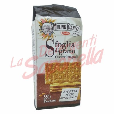 Crackers integrali Mulino Bianco 500 gr-20 pachete