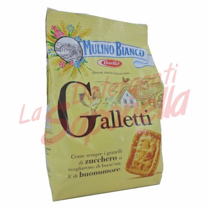 """Biscuiti Mulino Bianco """"Galletti"""" 400 gr"""