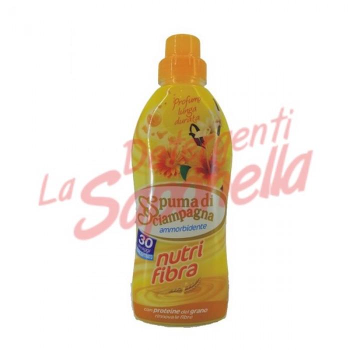 Balsam de rufe Spuma di Sciampagna Nutrifibra cu proteine din grau 750 ml-30 spalari