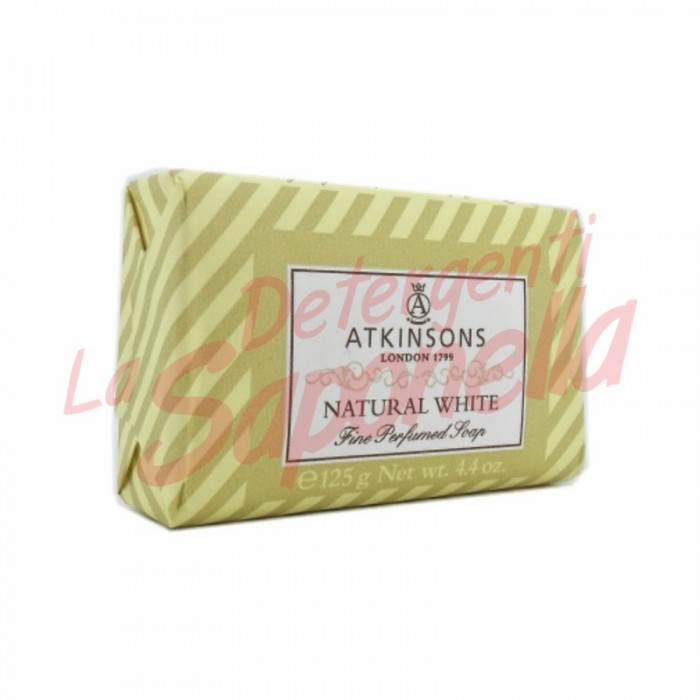 "Sapun solid Atkinsons ""Natural White"" 125 g"
