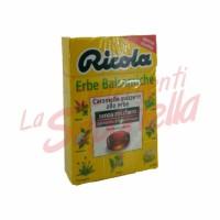 Bomboane Ricola elvetiene cu ierburi balsamice fara zahar 50 gr