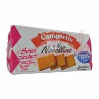 """Biscuiti Campiello """"Novellino"""" fara zahar adaugat cu indulcitori 350 gr"""