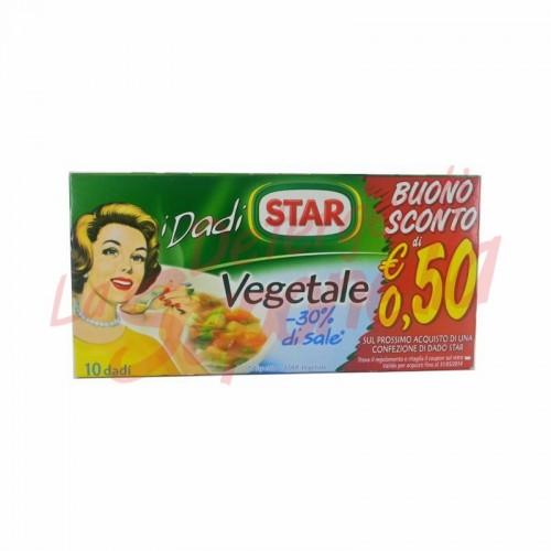 Cuburi vegetale pentru supa Star  si condiment 100 gr-10 cuburi