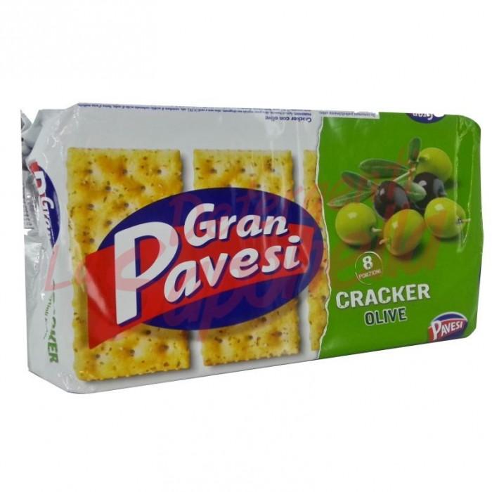 Crackers Gran Pavesi  cu masline 250 gr-8 pachete