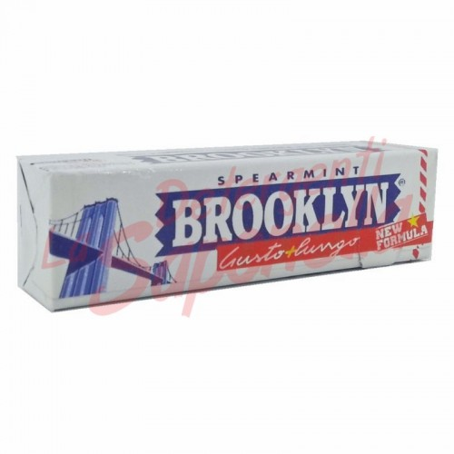 Guma de mestecat Brooklyn cu menta 25 gr-9 bucati
