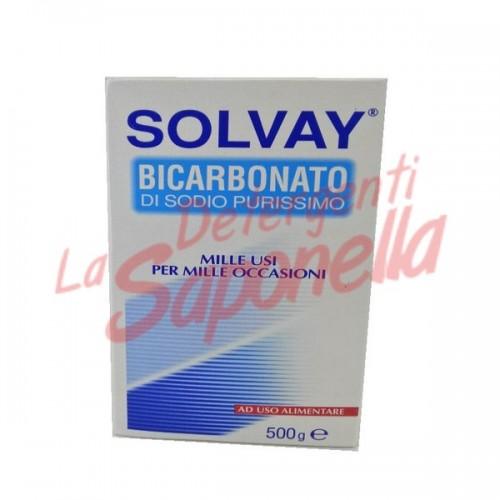 Bicarbonat de sodiu Solvay pur 500 gr