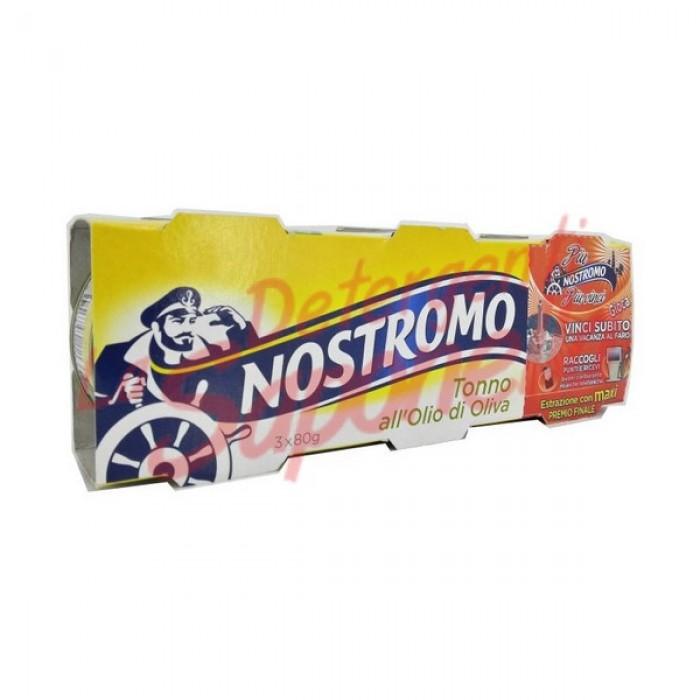 Ton Nostromo in ulei de masline 3x80 gr