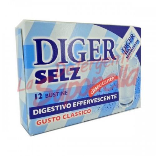 Digestiv Diger Selz efervescent clasic 42 gr-12 plicuri