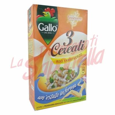 Amestec Gallo 3 cereale: orez, grau si orz 800 gr