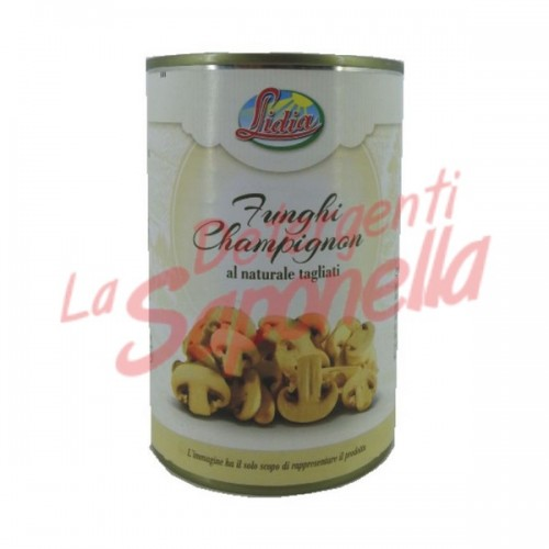 "Ciuperci Lidia ""Champignon"" in saramura 400 gr"
