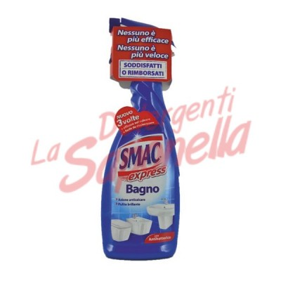Spray detergent de baie Smac Express cu antibacterian 650 ml
