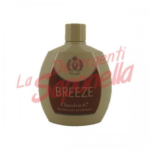 "Antiperspirant Breeze parfumat fara gaz ""Clasicco 67""  100 ml"