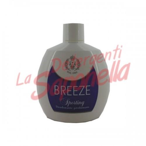 """Antiperspirant Breeze parfumat fara gaz """"Sporting"""" 100 ml"""