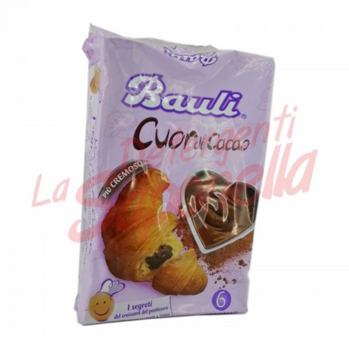 Cornuri Bauli cu cacao 300 gr-6 bucati