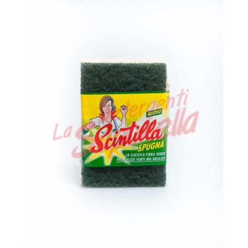 Burete Scintilla fibra verde - 1 bucata