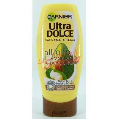 Balsam de par Garnier Ultra Dolce pentru par cret cu ulei de avocado si unt de shea 200 ml