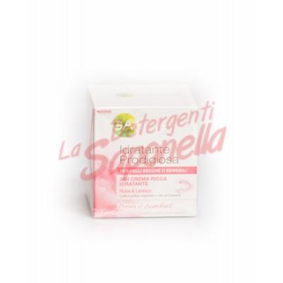 Crema de fata Garnier hidratanta cu seva si pasta vegetala+ulei de camelie pentru ten uscat sau sensibil 50 ml