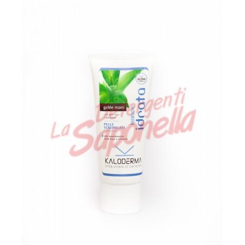 Crema de maini Kaloderma gel hidratanta cu aloe vera si glicerina pentru maini crapate si inrosite 100 ml