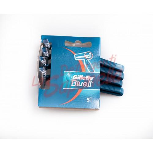 Aparate de ras Gillette de unica folosinta Blue II  - 5 bucati