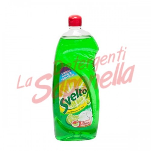 Detergent de vase Svelto cu lamaie verde 1000 ml