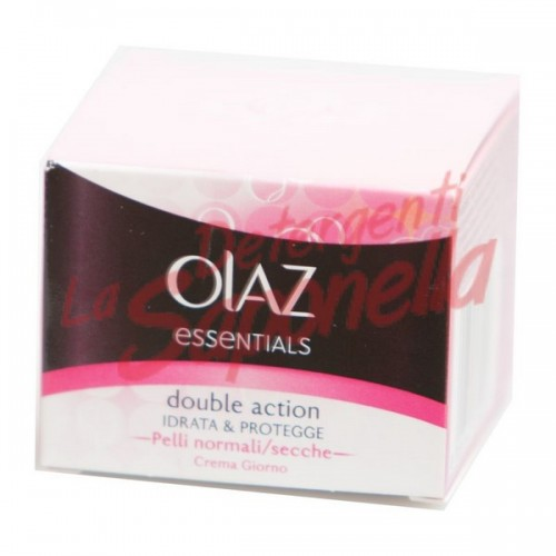 Crema fata de zi cu actiune dubla hidrateaza si protejeaza pentru ten normal/uscat Olaz Essentials 50 ml