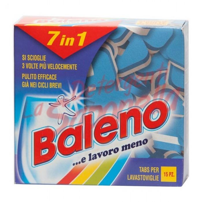Tablete masina de spalat vase Baleno 7 in 1-300 g-15 tablete