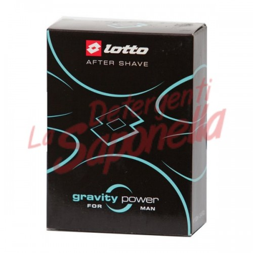 After shave Lotto Gravity Power 100 ml