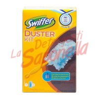 Kit pentru praf Swiffer maner+pamatuf (5 bucati)