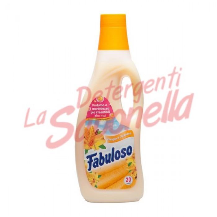 Balsam de rufe Fabuloso cu vanilie si orhidee 1500 ml- 20 spalari