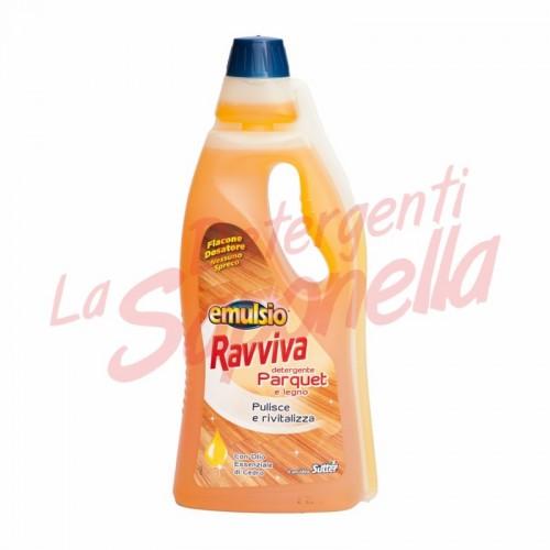 Detergent parchet si lemn Emulsio cu ulei esential de cedru -750 ml