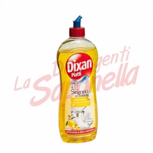 Detergent de vase Dixan cu bicarbonat si coaja de lamaie 650 ml