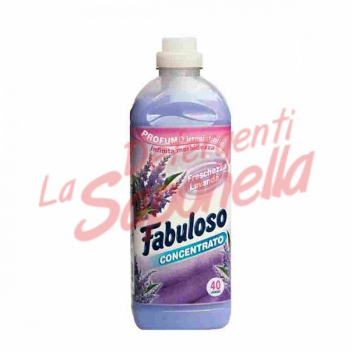 Balsam de rufe Fabuloso cu lavanda 1000 ml- 40 spalari