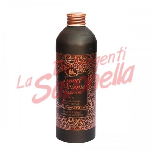 Crema de dus Tesori D'Oriente cu ulei de argan si flori de portocala 500 ml