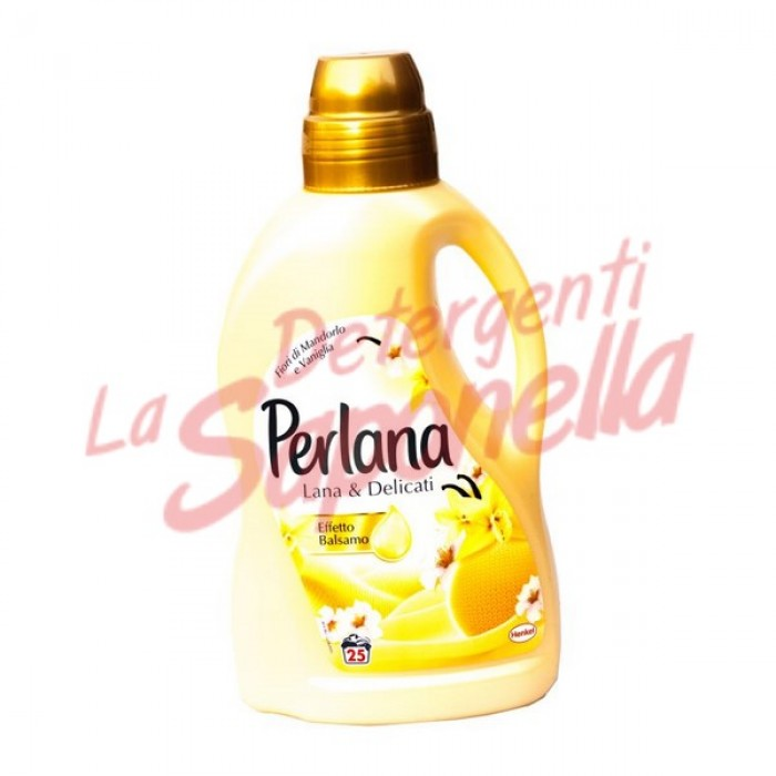 Detergent lichid Perlana haine delicate si lana cu  vanilie 1,5 L -25 spalari