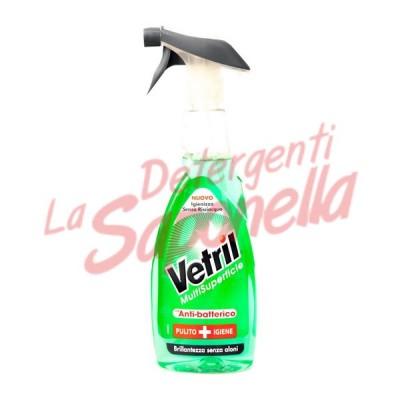 Spray detergent multisuprafete Vetril cu actiune antibacteriana 650 ml