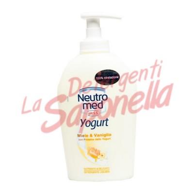 Sapun lichid Neutro Med iaurt cu miere si vanilie  250 ml