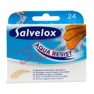 Plasturi Salvelox rezistenti la apa hipoalergenici-24bucati