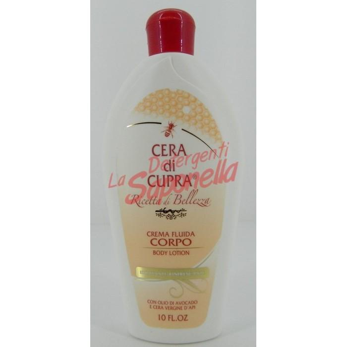 Crema de corp Cera di Cupra hidratanta cu ulei de avocado si ceara de albine 300 ml