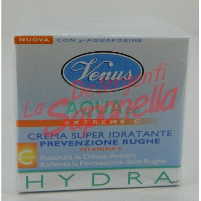 Crema de fata Venus super hidratanta pentru prevenirea ridurilor cu vitamina C 50 ml