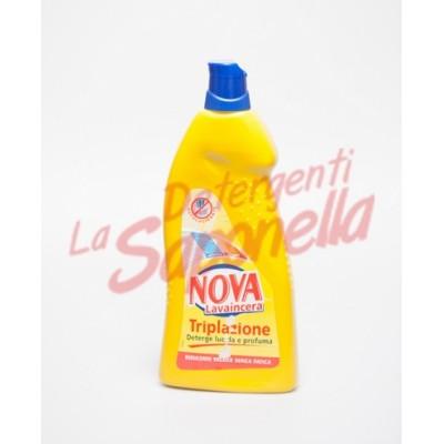 Detergent pardoseala Nova curatare, stralucire si parfum 900 ml