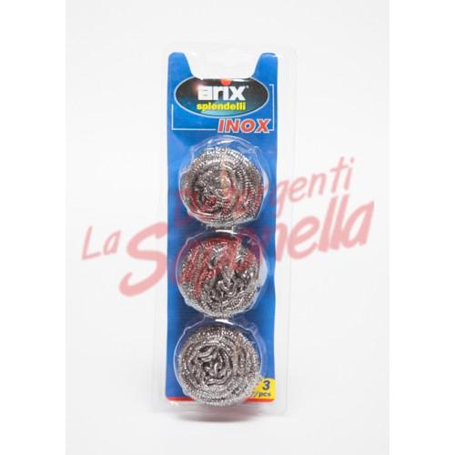 Bureti Arix inox- 3 bucati