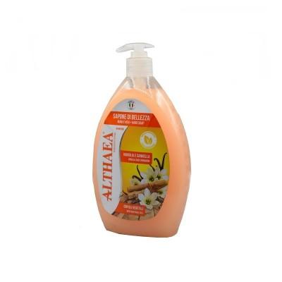 Sapun lichid de maini Althaea cu vanilie si scortisoara 750 ml