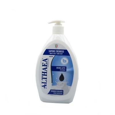 Sapun lichid Althaea cu crema de lapte 750 ml
