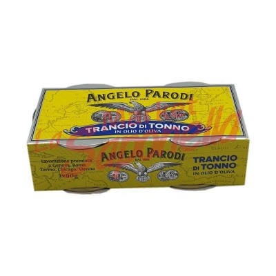 Conserva ton in ulei masline Angelo Parodi 2x 90 gr